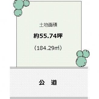 【堺区 中三国ヶ丘町】売土地