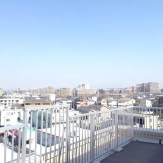 ルーフバルコニー3南東向き風景