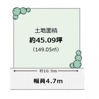 【北区 黒土町】売土地