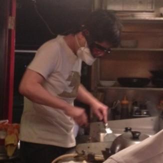 調理中写真