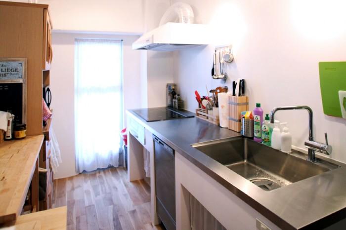 キッチン:オリジナル造作